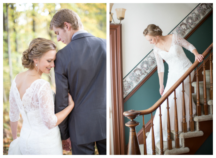 low romantic updo for the bride Photography: Violet Inspired Photography// Hair: Taming Rapunzel
