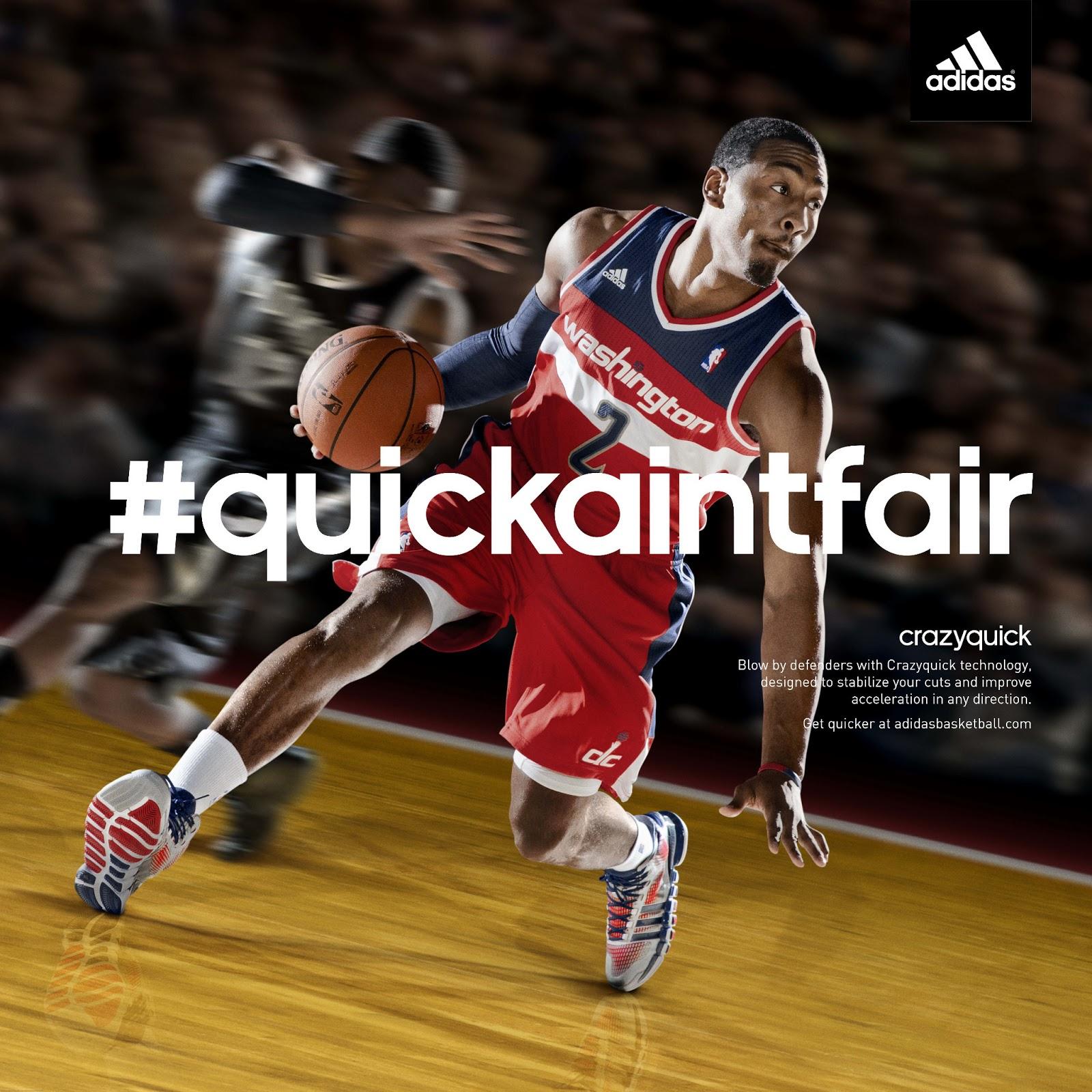 promo code 35cf6 7c06f ADIDAS AND NBA STAR JOHN WALL UNVEIL CRAZYQUICK BASKETBALL SHOE