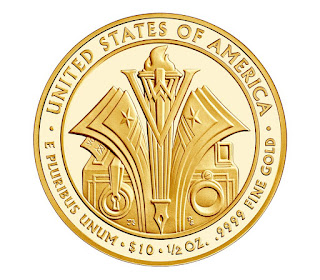 United States Gold Coins Florence Harding 10 Dollars First Spouse Gold Coin