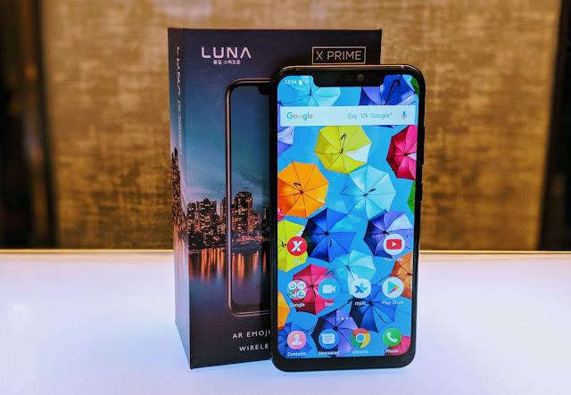 Spesifikasi Luna X Prime dengan Wireless Charging