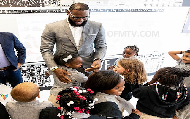 LeBron James opens new public school in Akron