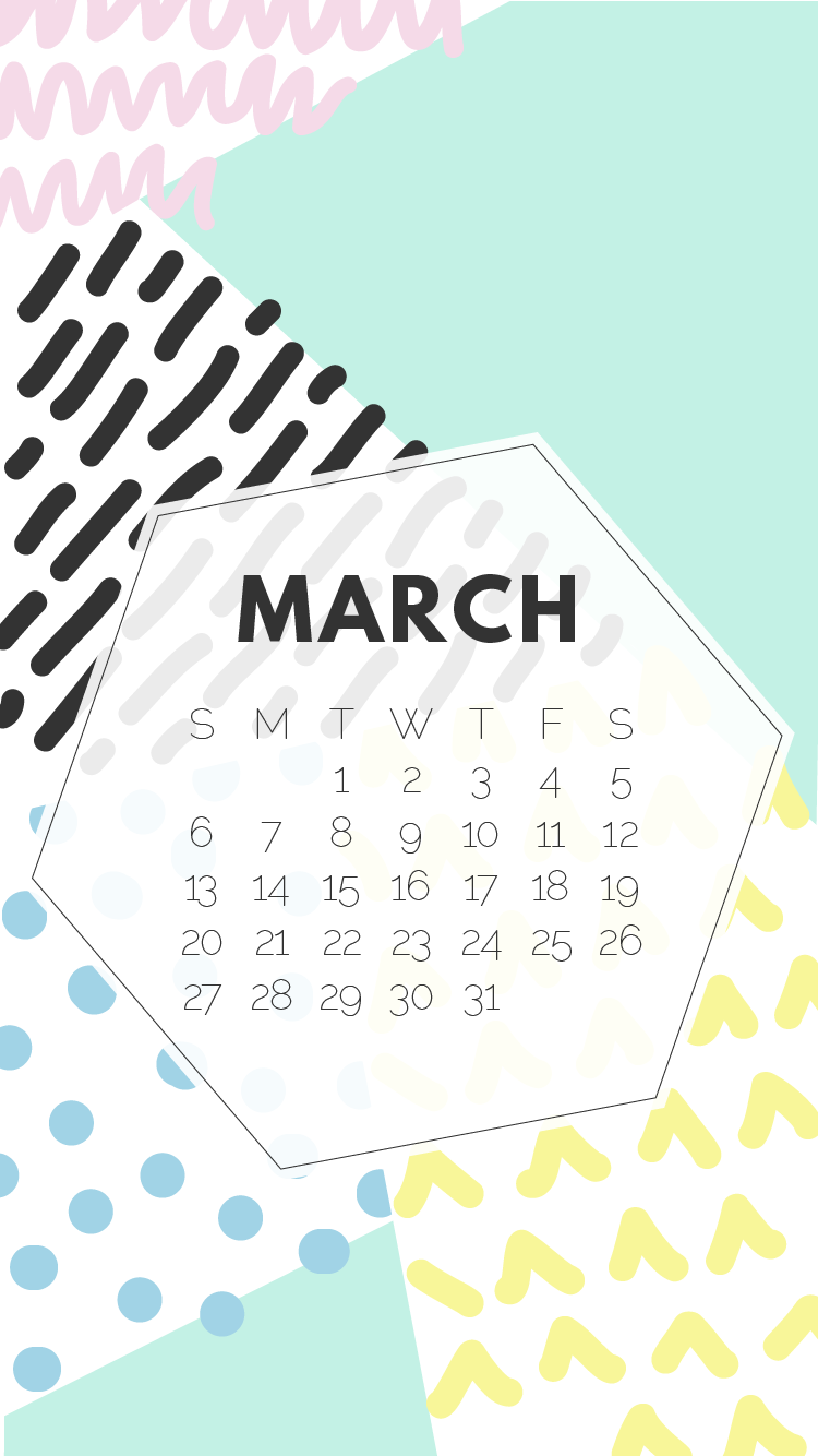 March iPhone Wallpapers {Free Download!}
