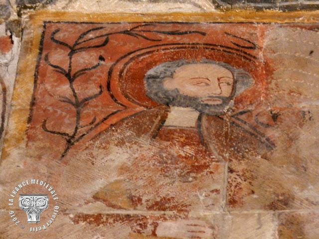 SAINT-PAUL-TROIS-CHATEAUX (26) - Peinture du Christ en gloire de la Cathédrale Notre-Dame (XVe siècle)