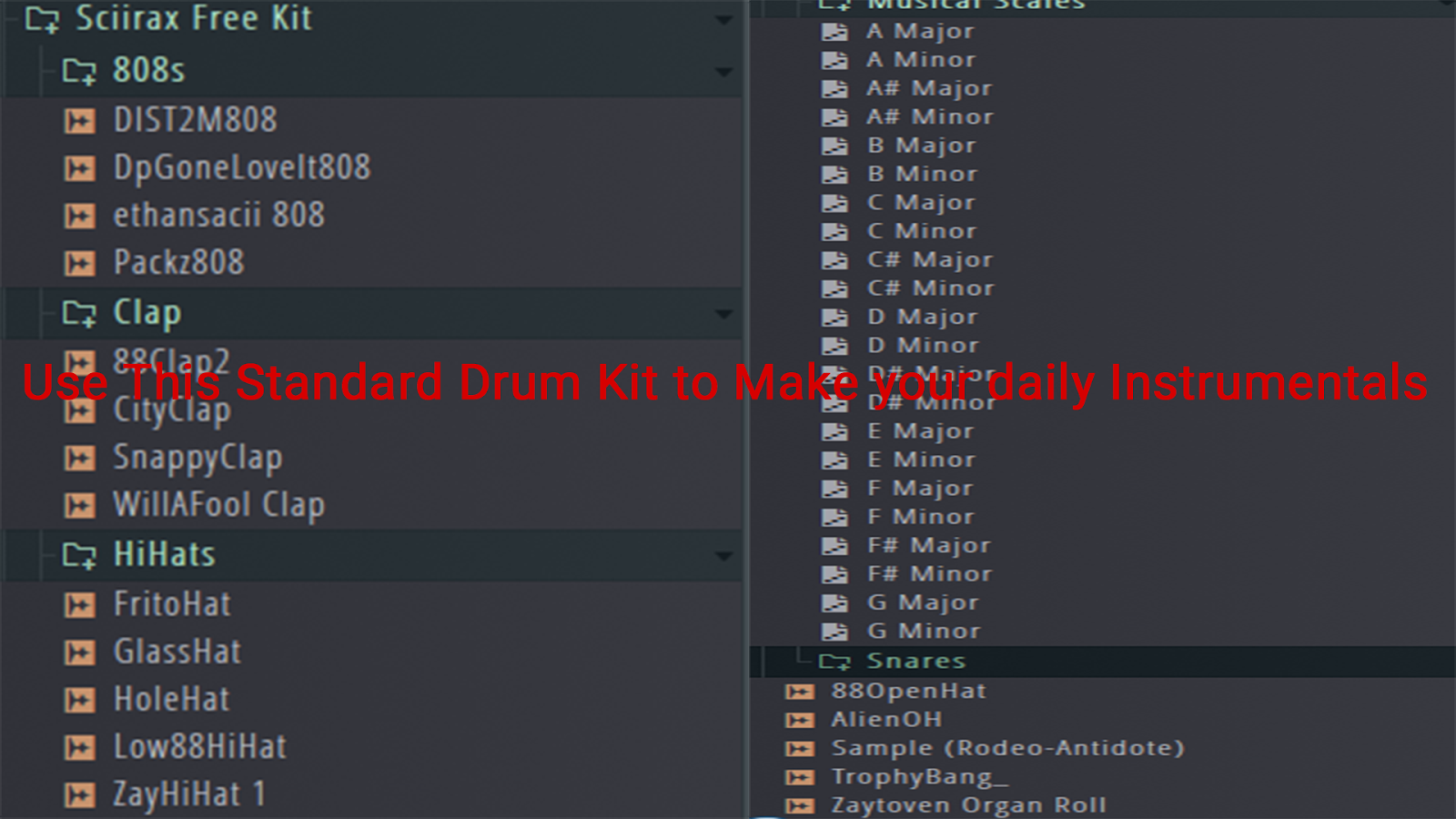 Use This Standard Drum Kit to Make your daily Instrumentals