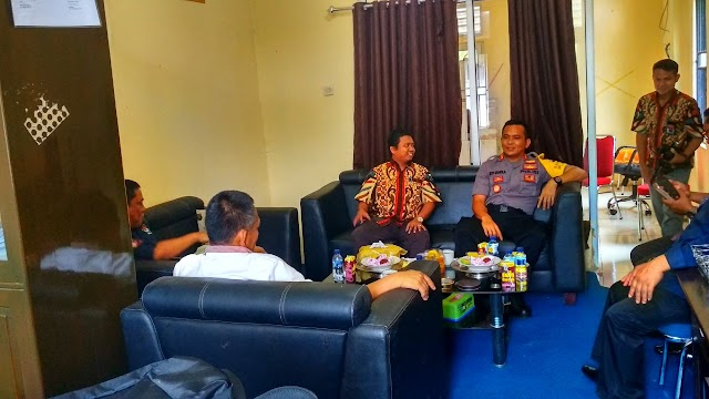 Kapolres Luwu Utara Silaturahmi Dengan KPU Dan Panwaslu