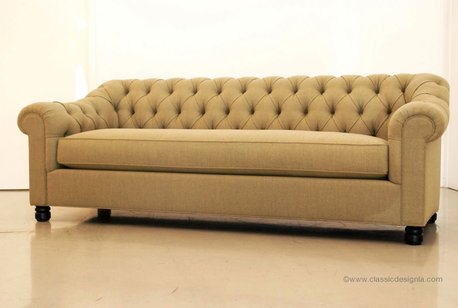 Custom Sectional Sofa Design With Reversible Chaise Lounge Made Modern Contemporary