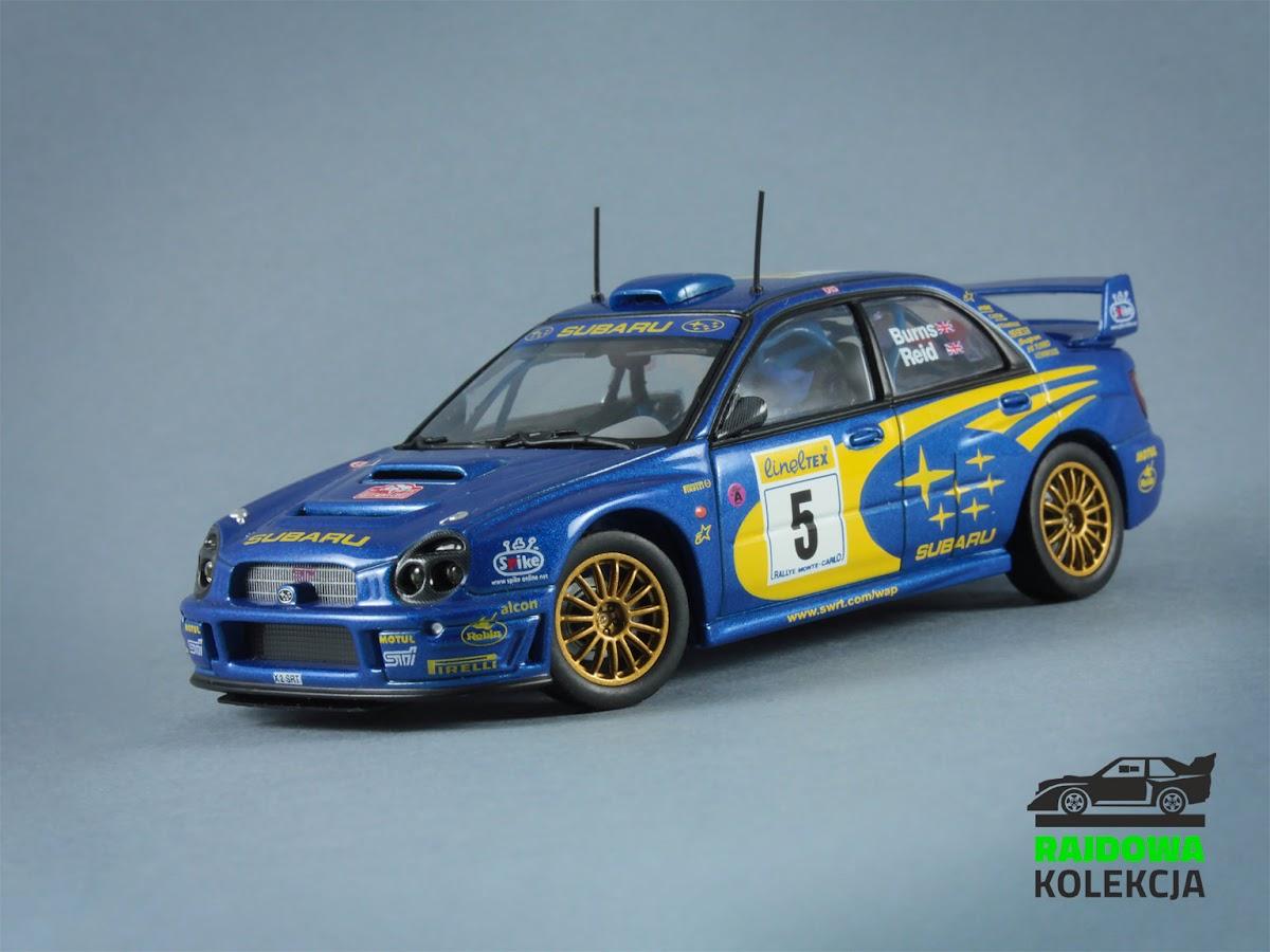 AUTOart Subaru Impreza S7 WRC 2001, Rallye Monte-Carlo