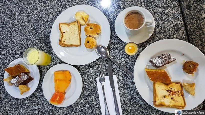 Café da manhã no Cartagena Plaza - Diário de bordo: 4 dias em Cartagena, Colômbia