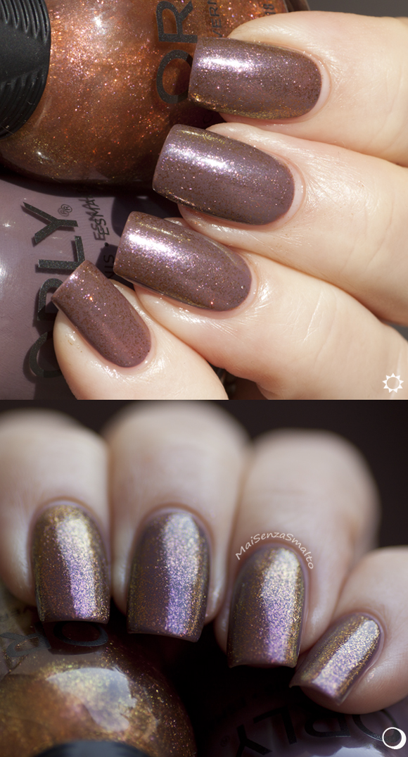 Orly Brush it on - base: Orly Blend