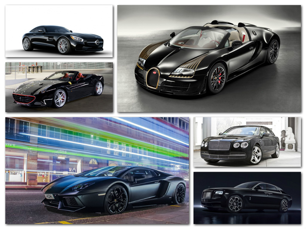 Black Luxury Vehicles: Passion For Luxury : 10 Sexy Luxury Cars In Black