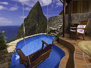 piscina terraza con vista increible