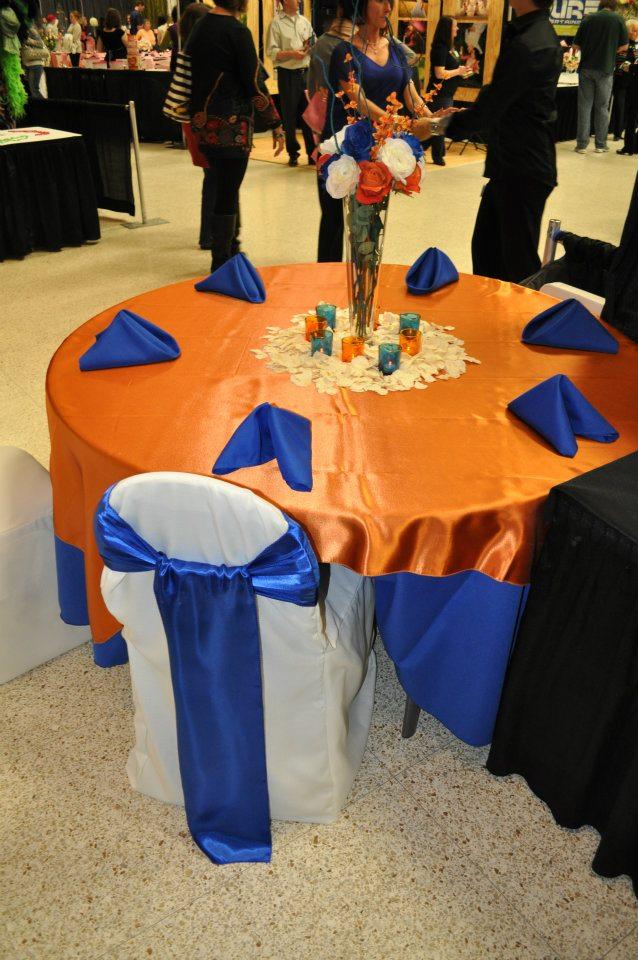 Royal Blue And Orange Wedding Theme | Wedding Ideas