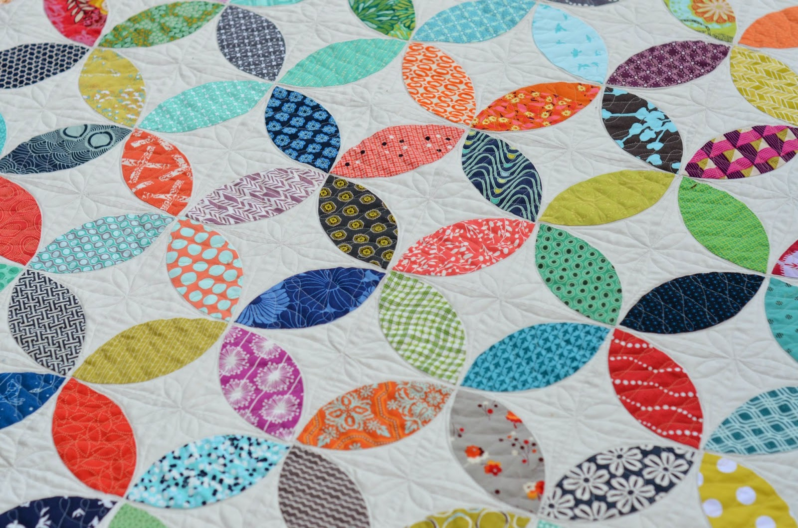 Hyacinth Quilt Designs Orange Peel Quilt