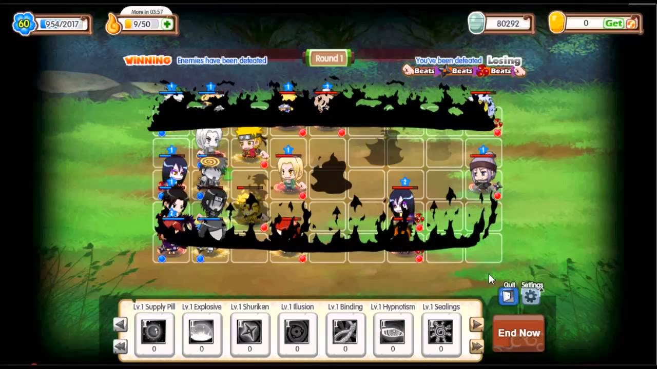 Pockie Ninja 2 Social - 2D Anime MMORPG on Facebook