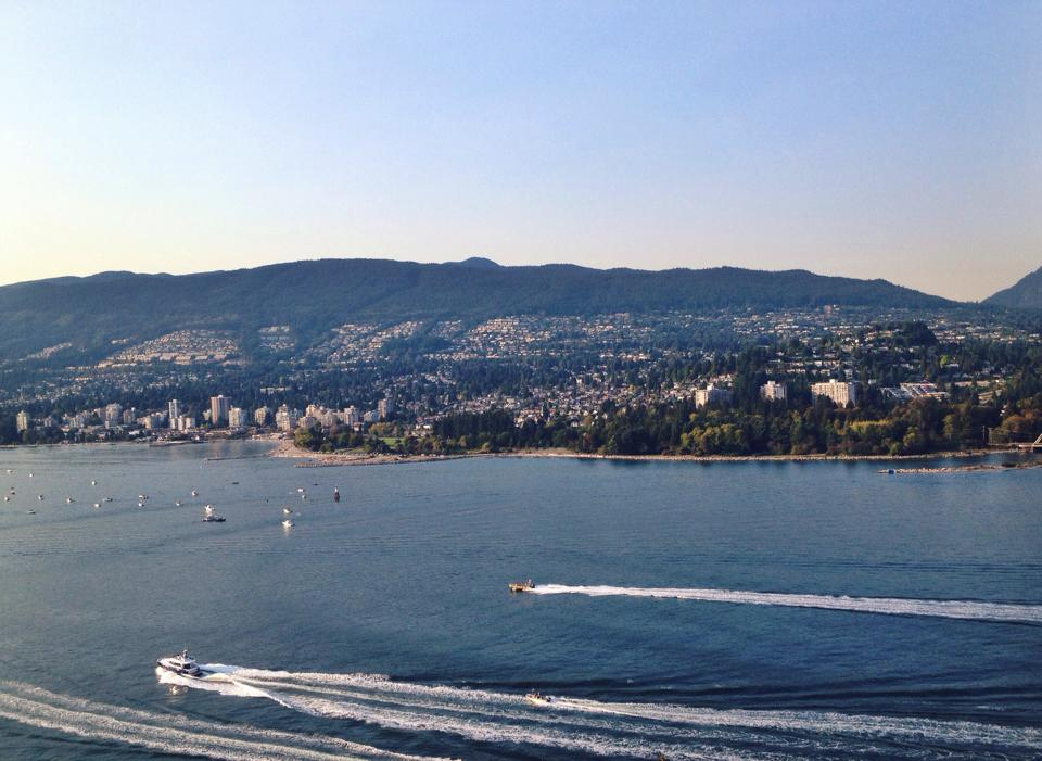 View from Prospect Point, Stanley Park