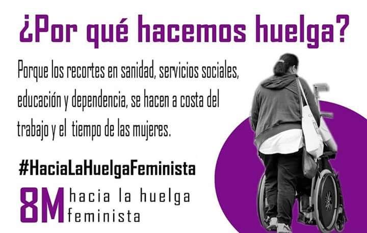 Resultado de imagen de porque hacemos huelga hacia la huelga feminista