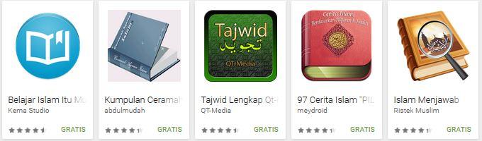 aplikasi belajar Islam android