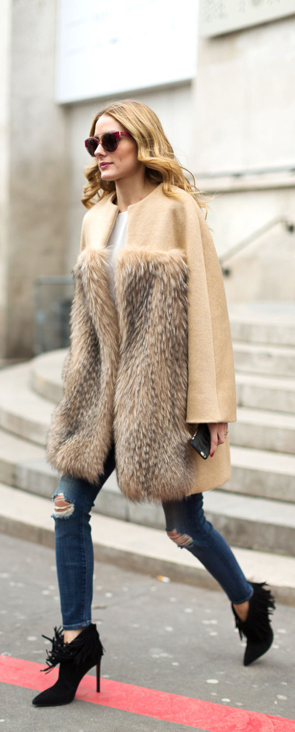 Chic Fall Outfit Ideas To Copy Right Now #FallOutfit