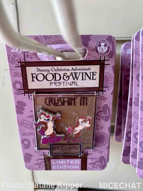 2020 Disney California Adventure Food & Wine Festival merchandise