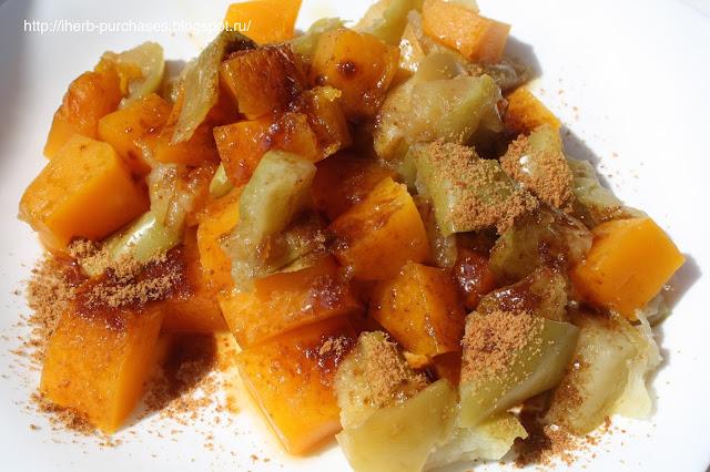 запеченная тыква яблоки фото рецепт отзыв