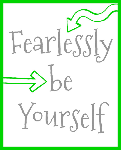 free printable and easy ways to be yourself