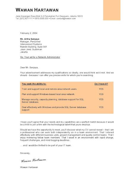Contoh Cover Letter Jobstreet Tips Menulis Resume Yang Memukau