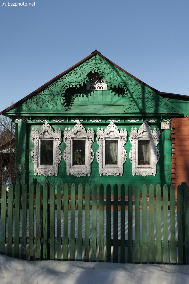 деревянные дома в сергиевом посаде