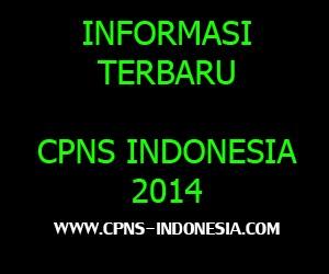 Formasi Tenaga Kesehatan CPNS 2014
