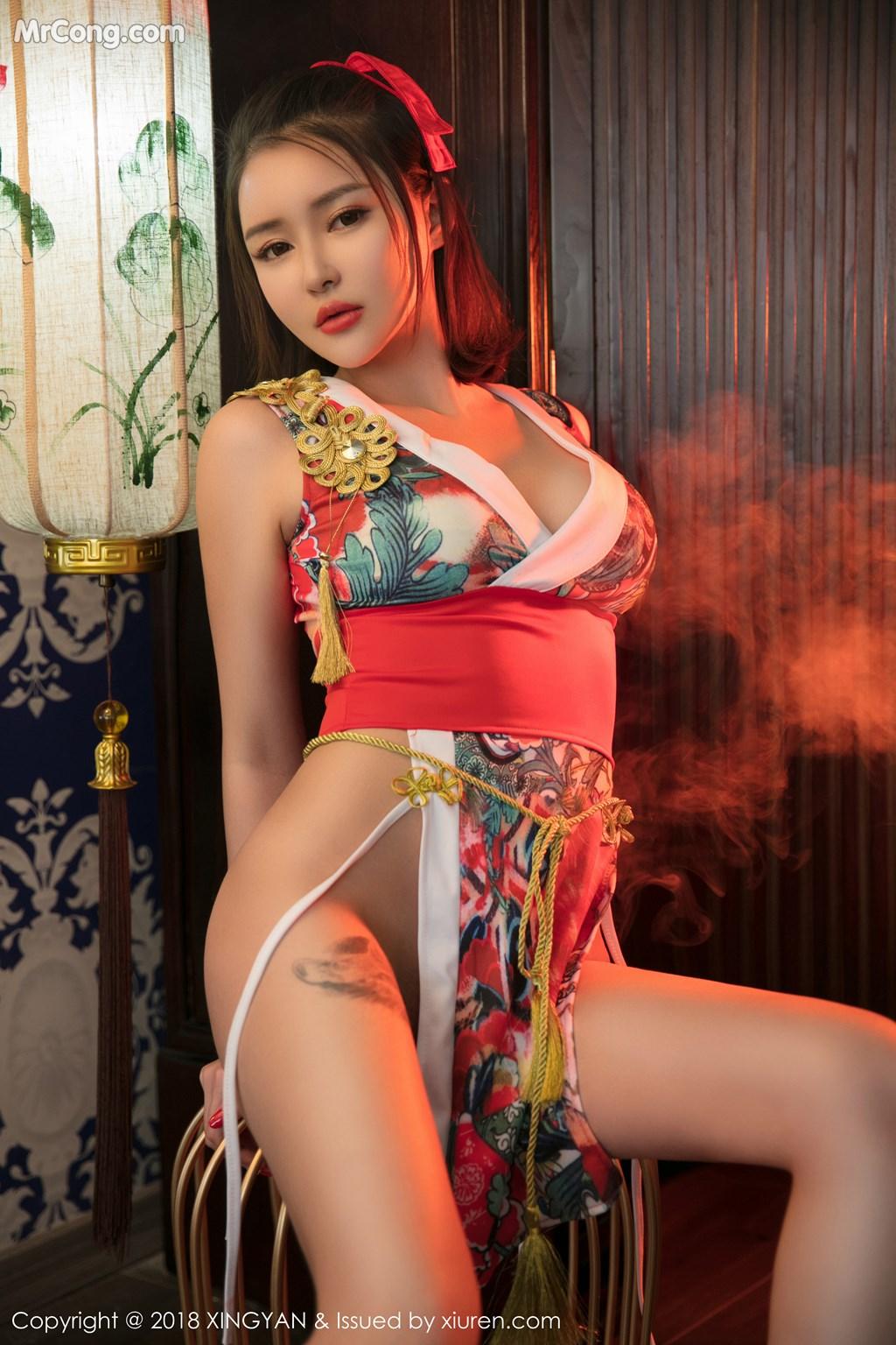 Image XingYan-Vol.028-MrCong.com-002 in post XingYan Vol.028: Người mẫu 廿十 (41 ảnh)