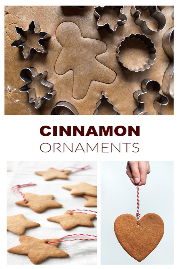 DIY CINNAMON ORNAMENTS: easy recipe & makes the entire home smell just like Christmas! #cinnamonornaments #cinnamonornamentrecipe #cinnamonornamentsbaked #ornamentsdiy #ornamentsforkidstomake #christmasdecorations #christmascrafts