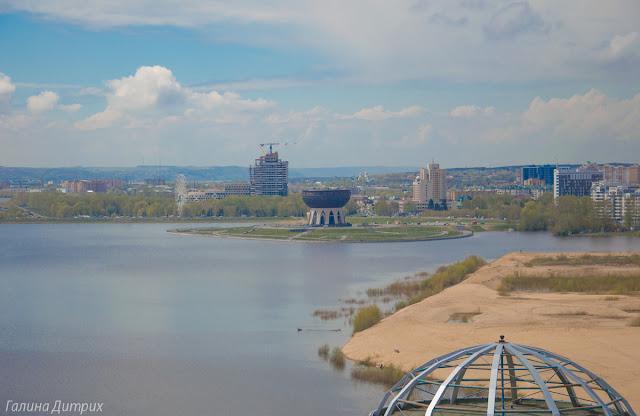 Насыпи на реке Казанке