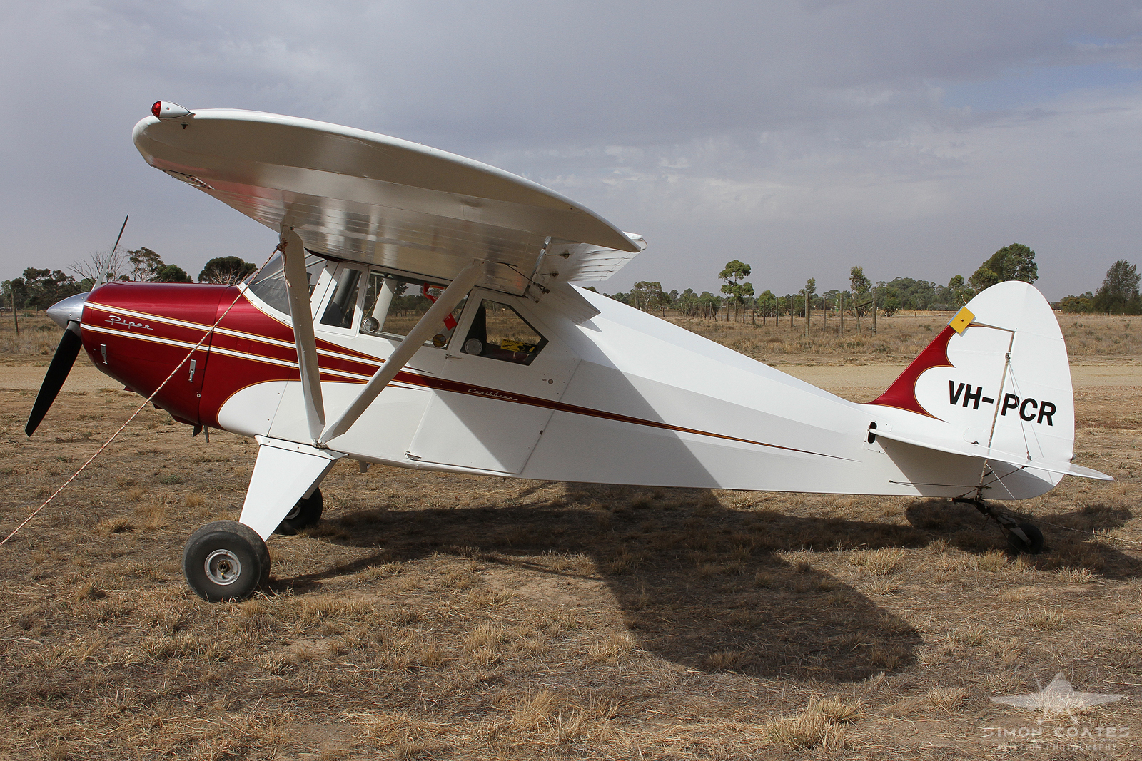 Piper PA-22-160 Tri-Pacer (Tail wheel conversion) VH-PCR