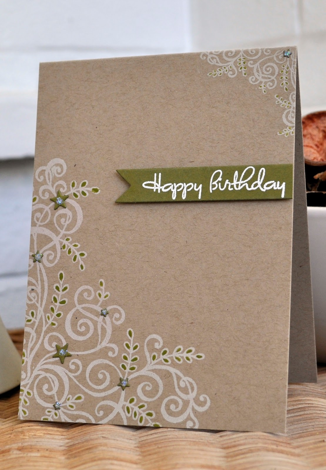 Simple Paper Chick Craft: Inky Fingers: Papertrey Ink Birthday Cards For Clean And
