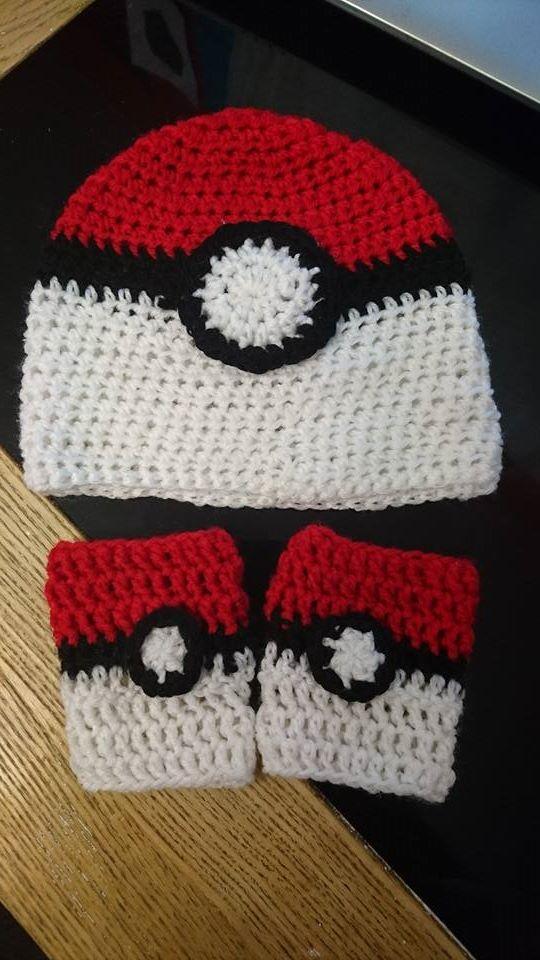 Thehoneypotcraftsnthings Pokemon Pokeball Hat A Free Crochet