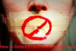 How to Delete A Facebook Comment