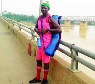 Man Treks From Lagos To Kaduna To Prove Love To C'Rivers State Ex-Governor's Daughter