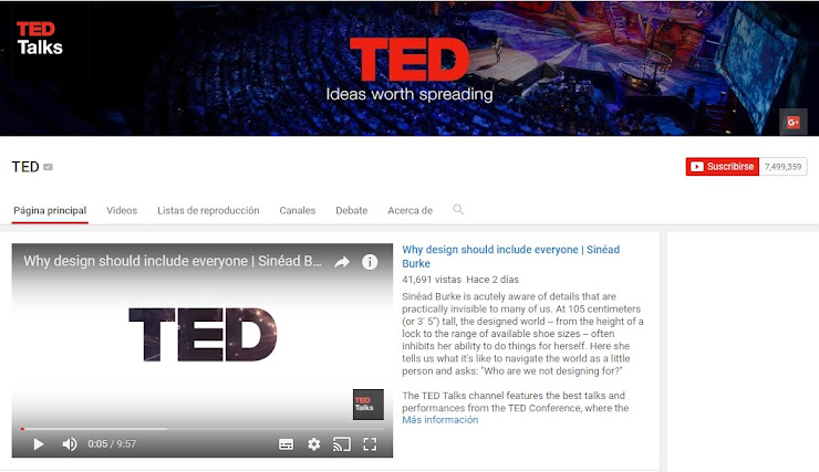Youtube TED