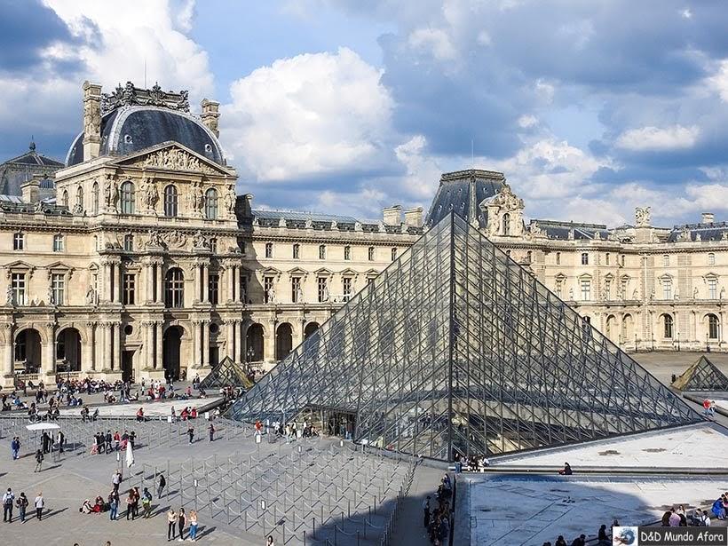 Museu do Louvre - Diário de Bordo - 3 dias em Paris