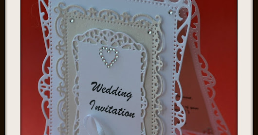 12th March 2017 ~ Wedding Invitation