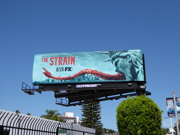The Strain season 3 billboard