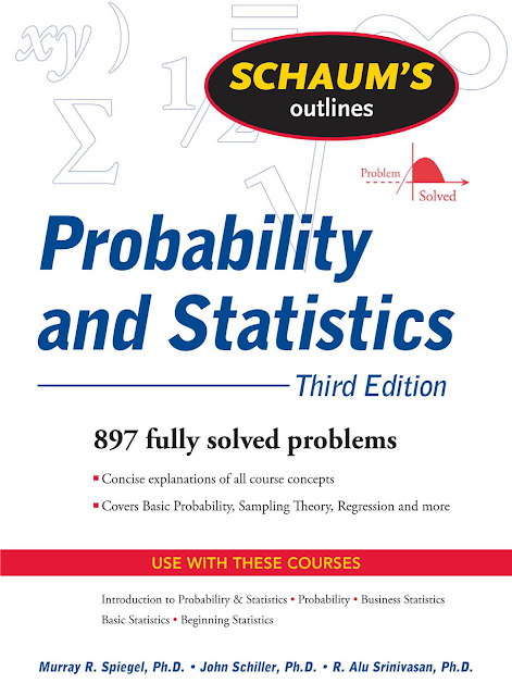 Download Schaums Outline Probability and Statistics 3rd Edition PDF