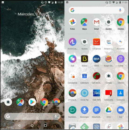 Android Stock Launcher Apk
