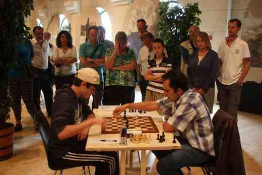 La salle de jeu du tournoi d'échecs de Chambéry - Photo © ledauphine.com