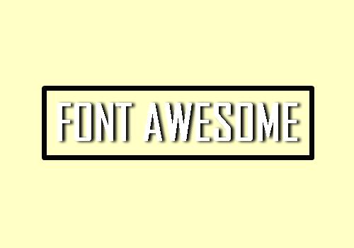 Tutorial Simpel Menginstall Font Awesome di Blogger dan Cara Menggunakannya