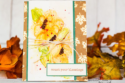 Tonya Gibbs Watercolor Blessing Card for Yvonne Blair Designs