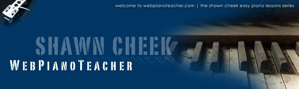 WebPianoTeacher: Piano Lesson How To Play The Hill Street Blues