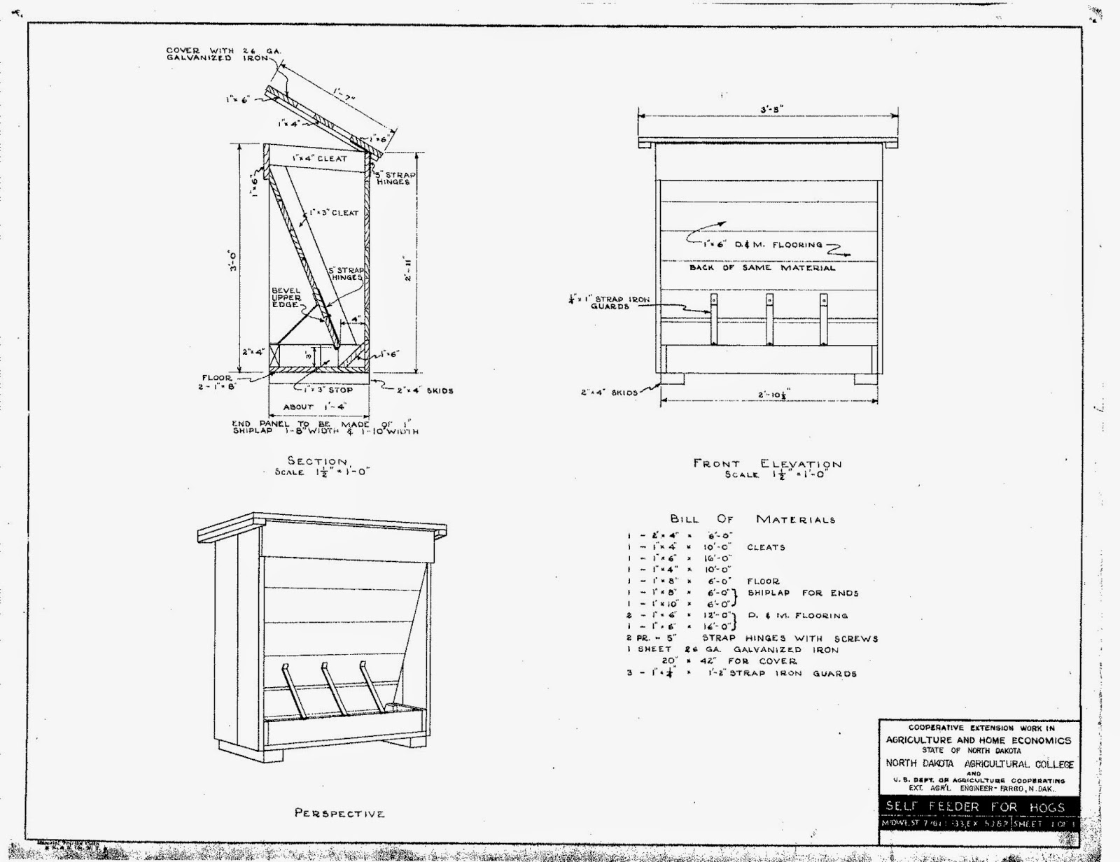 nirvana valley model railroad  portable hog house  feeder