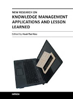 New research on Knowledge Management Applications and Lesson Learned