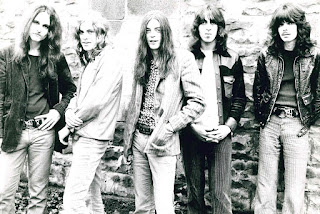 JUKIN' BONE CIRCA 1971, FEATURING (FROM LEFT) JOHN DEMASO, JOE WHITING, TOM GLAISTER, GEORGE EGOSARIAN AND MARK DOYL