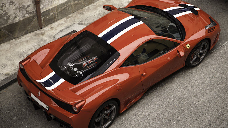 Super Car Ferrari 458 HD